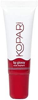 Kopari Coconut Lip Glossy Sangria - Hydrating and Moisturizing Coconut Oil, Vitamin E and Shea Butter Lip Gloss With 100% Organic Coconut Oil, Non GMO, Vegan Sulfate Free 0.35 Oz