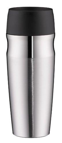 alfi 5617.205.035 Coffee To Go Trinkbecher isoMug, Edelstahl mattiert 0,35 l, 4 Stunden heiß, 8 Stunden kalt, BPA-Free, 360° Trinken