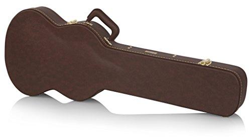 Gator GW-SG-BROWN - Funda rígida de madera para guitarra el