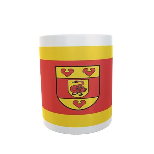 U24 Tasse Kaffeebecher Mug Cup Flagge Kreis Steinfurt