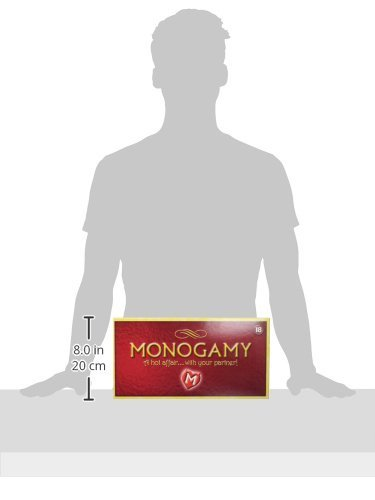 Monogamy, Adult Board Game for Couples and Lovers, Bundle