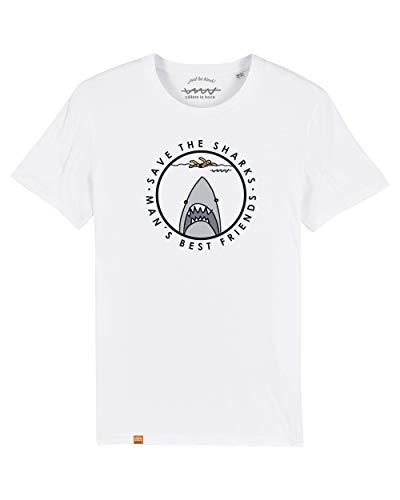 Camiseta Callate La Boca Blanca Tiburon (XL)