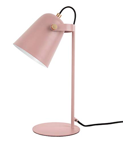 Present time - Lampe à poser fer rose mat STEADY