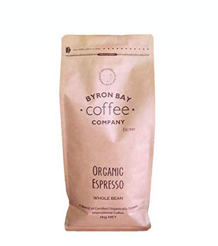 Byron Bay Coffee Company Wholebean, Organic Espresso, 1000 Grams