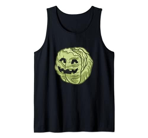 Disfraz de Halloween de lechuga perezoso. lindo y fcil de dibujos animados Camiseta sin Mangas