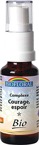 Biofloral - Elixir floral du docteur bach complexe n°4 courage - vaporisateur élixir floral 20 ml -