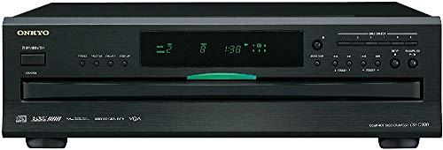 Onkyo DX-C390(B) 6-facher CD-Karussellwechsler, für die Wiedergabe von MP3 CDs und Audio CDs, High-End CD-Player mit innovativen Technologien, gebürstete Aluminium-Gehäusefront, silber