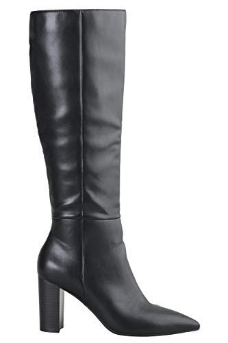 Buffalo Damen Stiefel Monica, Frauen Klassische Stiefel, Absatz sexy feminin Lady Ladies elegant Women's Women Woman,Schwarz(Black),39 EU / 6 UK