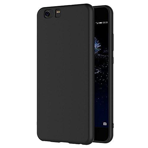 AICEK Cover per Xiaomi Mi5, Cover Xiaomi Mi 5 Nero Silicone Case Molle di TPU Sottile Custodia per Xiaomi Mi5