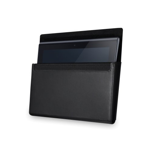 Sony SGP-CK1 Leder Schutzhülle für Sony Tablet S schwarz
