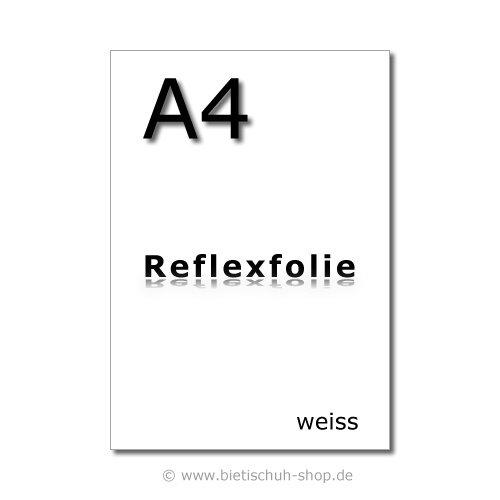 3M Reflexfolie A4, weiss, reflektierend, selbstklebend