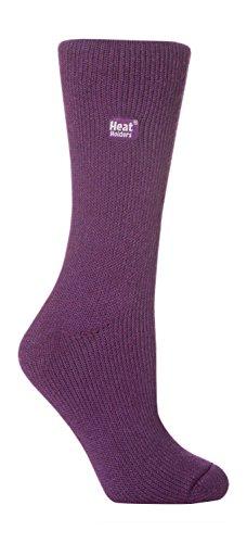 Heat Holders Damen Socken, Lila, 37/42