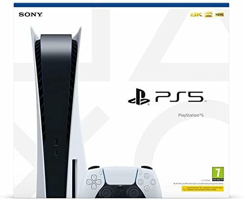 Konsole PlayStation 5 Console Standard Edition 825GB SSD 4K/8K HDR (mit Laufwerk)