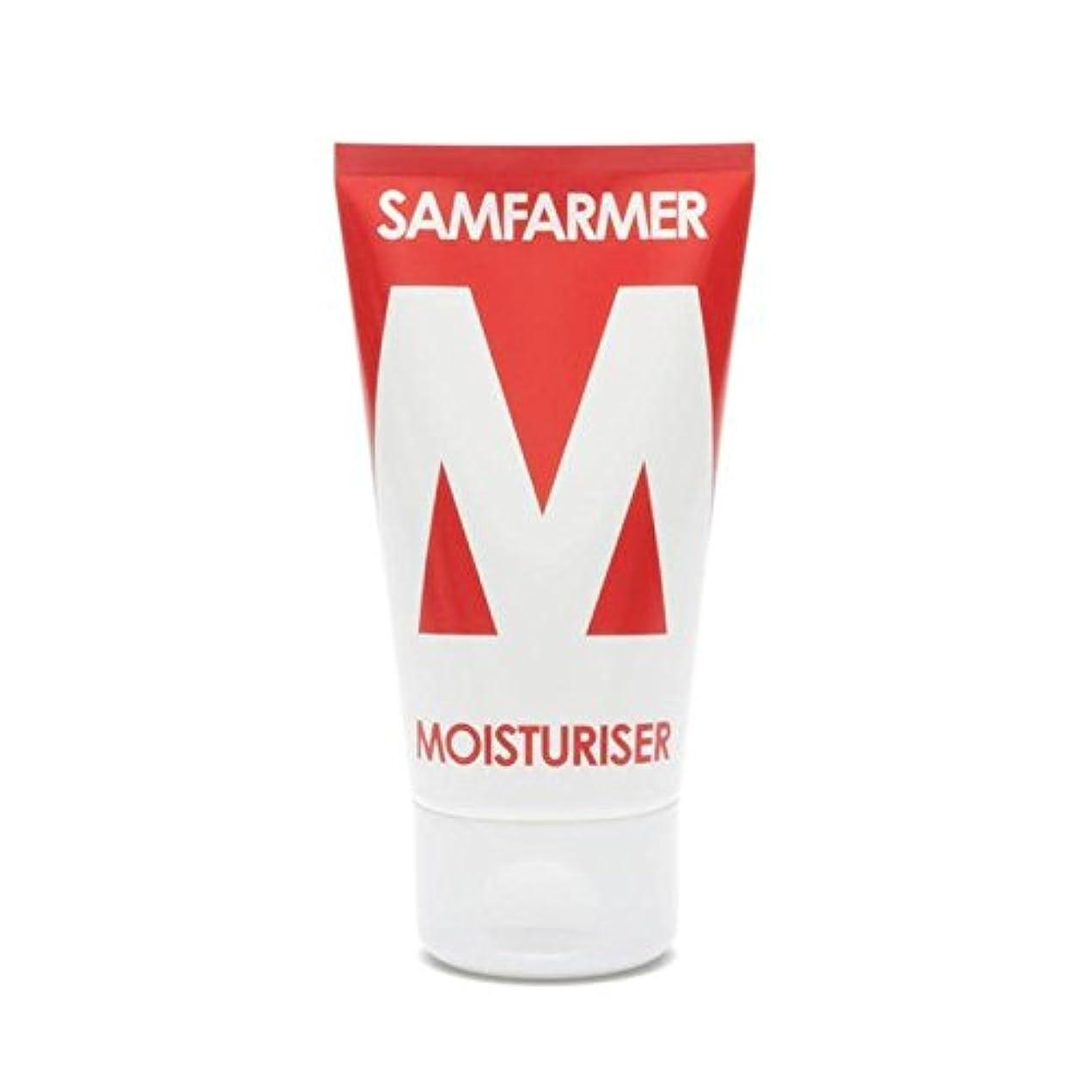 満足できる行進鈍いユニセックス保湿50ミリリットル x4 - SAMFARMER Unisex Moisturiser 50ml (Pack of 4) [並行輸入品]