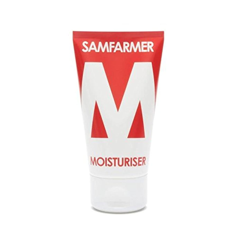 天才アシスト言及するユニセックス保湿50ミリリットル x2 - SAMFARMER Unisex Moisturiser 50ml (Pack of 2) [並行輸入品]
