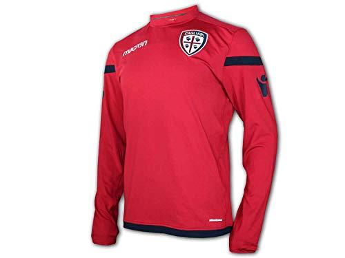 Macron FC Bologna 3rd Jersey M17 blau BFC Alternativ Fan Trikot Serie A Fußball, Größe:3XL
