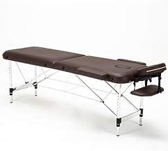 AMAZACER Massage Bed 2 Folding Portable Aluminum Beauty SPA Treatment Waxing Bed, Adjustable Spa Bed Facial Cradle Salon B...