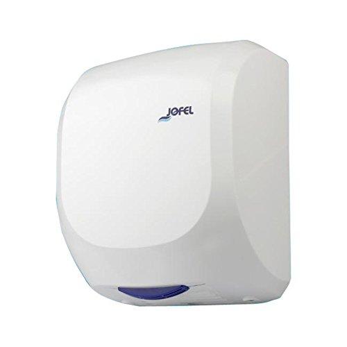 Jofel AA19000 - Secamanos Alto Rendimiento AVE ABS, Óptico, 1400 W, 400 Km/h, Plata