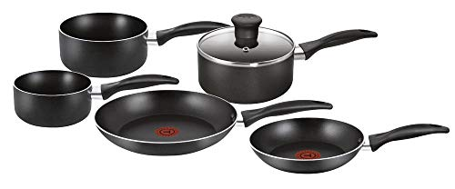New Tefal Easy Care 5 Piece Non-Stick Cookware Set