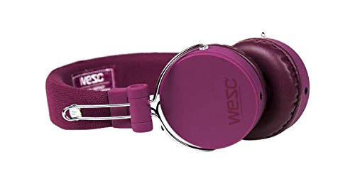 WESC M30 On-Ear Wired Headphone Plum