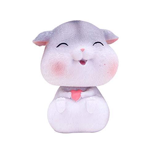 display08 Cute Hamster Figurine Coleccionables Adornos Resina Miniatura Paisaje Car Dashboard Decoración Accesorios Survenir B2