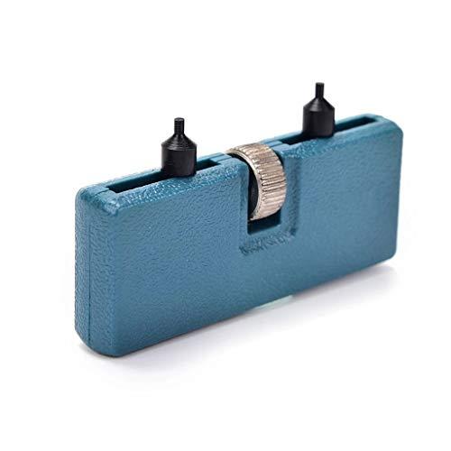 AYDQC Abridor de Reloj Ajustable Retroceso Removedor de Tornillo Relojamerador Abrir batería Cambio de batería Universal Kit de Herramientas de reparación
