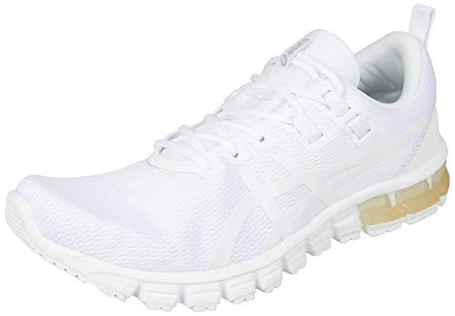Asics Herren Gel-Quantum 90 Running Shoe, White/White, 45 EU