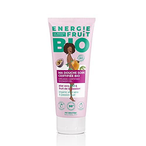 ENERGIE FRUIT   Gel Douche pH Neutre   Certifié BIO par Ecocert   Fruit de la Passion & Aloe Vera   Vegan   200ml