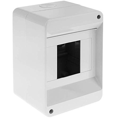 BOXEXPERT Caja de armario mural 250x350x150mm IP 65 gris RAL7035 transparente Caja de distribuci/ón para armario de distribuci/ón