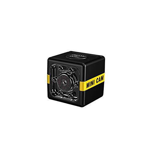 KKmoon Kamera Überwachungskamera Mini Kamera Full HD 1080P tragbare kleine Heimkamera mit Nachtsich Bewegungserkennung für Weihnacht Geschenk Innen und Außen Sport Schwarz