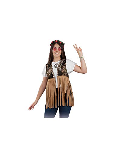DISBACANAL Chaleco Hippie para Mujer - -, M