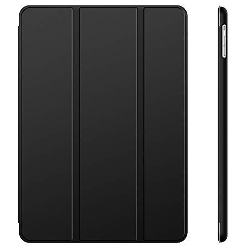 JETech Hülle Kompatibel iPad Air (2013 Modell), Schutzhülle mit Ständer Funktion und Auto Schlaf/Wachen (Schwarz)