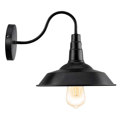 Lovebay Lampada da Parete Industriale Vintage Applique Interno Classico Lampade da Muro Retro Design...