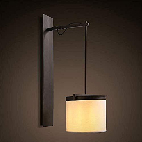 MEIXIAN Wandlamp Moderne eenvoudige LED RVS ronde wandlamp eenvoudig retro