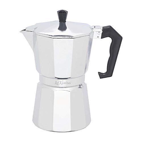 Kitchen Craft LeXpress klassisk stil espressokanna för 6 koppar