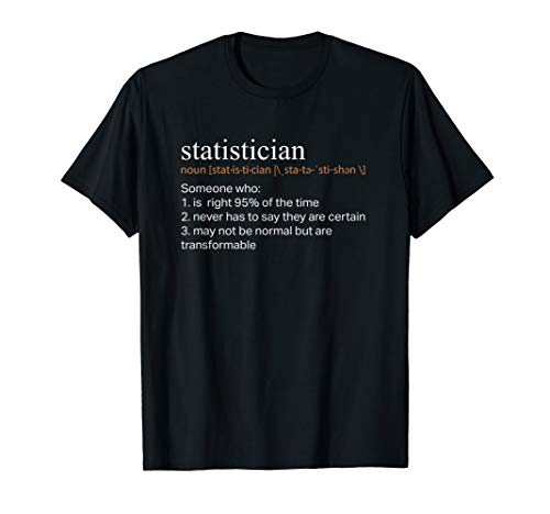 Funny Statistician Actuary Definition Gift T Shirt