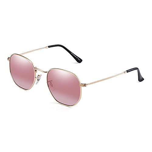 ShZyywrl Gafas De Sol De Moda Unisex Gafas Lente Gafas De Sol Redondas Mujer Hombre Otro