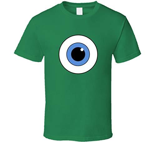 YAOJIN Mike Wazowski Eye Monsters Inc - Camiseta para disfraz de Halloween, color verde irlands