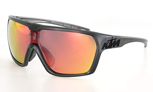 KTM Sonnenbrille Character Polarized Mirror C3, Bitte Farbe auswahlen (Schwarz matt/schwarz KTM Logo)