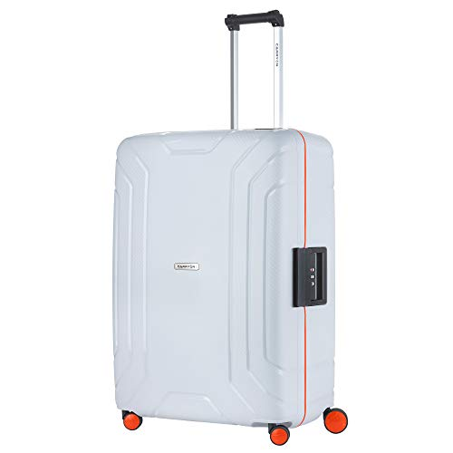 CarryOn Steward TSA Reiskoffer - Trolley 75cm met kliksloten - Dubbele wielen en luxe interieur - Lichtgrijs (lichtgrijs)