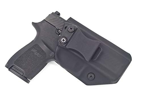 Sunsmith Holster - Compatible with Sig Sauer P320 Compact Kydex IWB Concealed Carry Holster Made in USA by Fast Draw USA (Black - Right Hand)