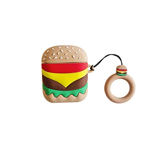 Airpods2-Schutzset McDonald's Burger Drahtloses Bluetooth-Headset Fries Silikon Anti-Fall Hamburg Airpods 1 Generation 2 Generation Universal-Schutzhülle