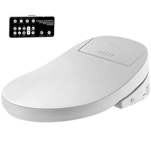 FOHEEL Smart Bidet Beheizter Toilettensitz mit LED-Licht Wc Smart WC-Sitz, intelligenter WC-Sitz, elektrischer Bidet