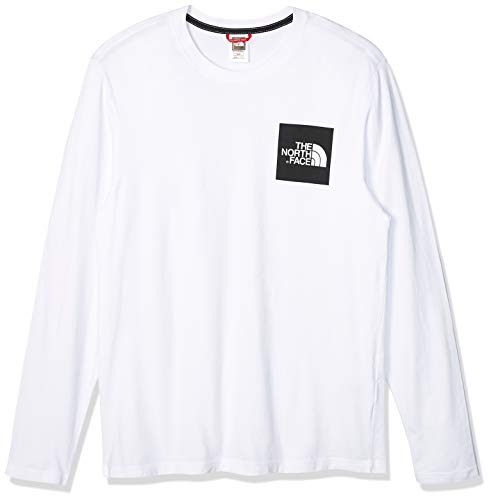 The North Face Fine Homme Sweatshirt, Blanc, FR (Taille Fabricant : XL)