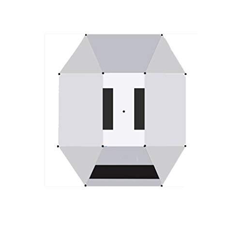 YUTRD ZCJUX Carpa de Coche Carport móvil Plegado Protección de automóvil portátil Paraguas de Coche Parasol a Prueba de Sol Cubierta de Dosel Exterior Universal