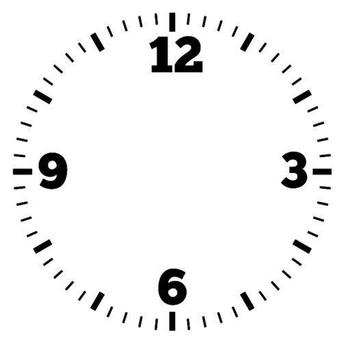 HR-WERBEDESIGN 2 x getallen cijfers tattoo sticker wijzerplaat decoratie folie klok klok tijd groot XXX