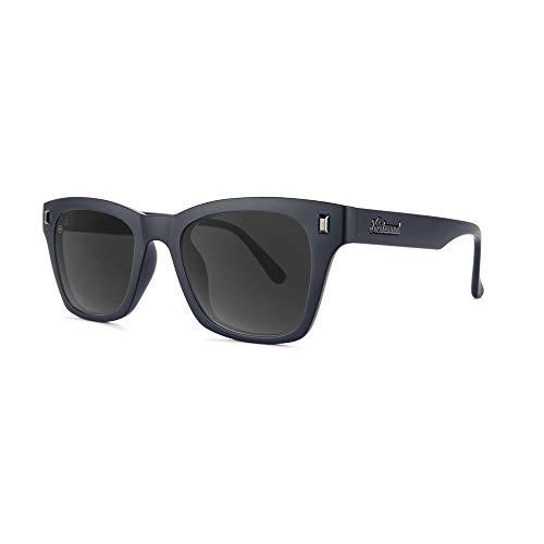 Knockaround - Gafas de sol polarizadas para hombre y mujer, protección UV400 completa, Negro (Matte Black on Black/Smoke), Talla única