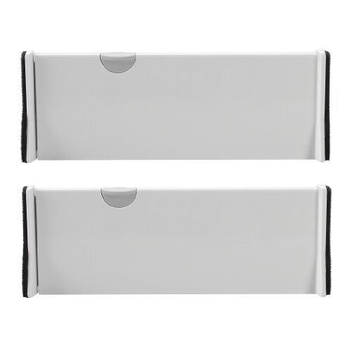 OXO Expandable Dresser Drawer Dividers 4-Inch, Pack of 2 - UPDATED VERSION AVAILABLE