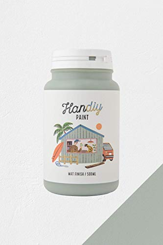 HANDIY PAINT(ハンディペイント) チョークペイント塗料 ミスティグリーン(つや消し緑)