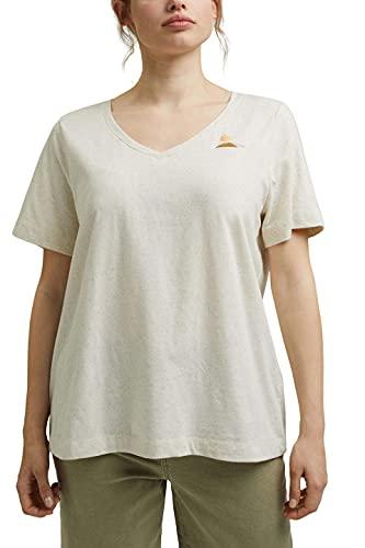 Esprit 051ee1k341 T-Shirt, 285/Sable, 48 Femme